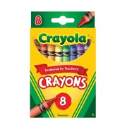 Crayola 8 Assorted Crayons (02.0008)