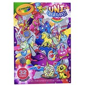 Crayola Unicreatures Colouring Book (04-0542-E)
