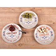 Creative Tops Gourmet Cheese Serve Dishes 3s (5214467)