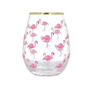 Creativetops C/tops Ava & I Flamingos Stemless Wine Glass 590ml (5226396)