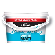Crown Matt Emulsion Brilliant White 7.5l (5022857)