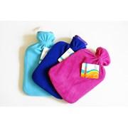 Hot Water Bottle With Fleece Cover (CS01415)