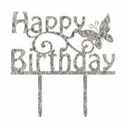 Culpitt Happy Birthday Cake Topper Dec (84879)