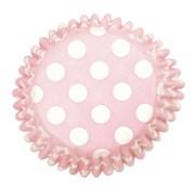 Culpitt Pink Spot Baking Cases 54s (2210)