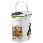 Curver Dry Pet Food Container Dog White 4kg (182001)