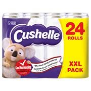 Cushelle Toilet Roll White 24s (6347)
