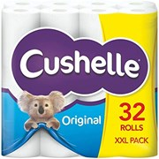 Cushelle Toilet Roll White 32s (6298)