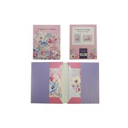 Design By Violet Filigree Leaves Note Cards 8s (DBVED-3-8NC)