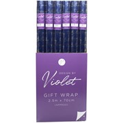 Design By Violet Blue Birthday Foil Roll Wrap 2.5mt (DBVED-45-GW)
