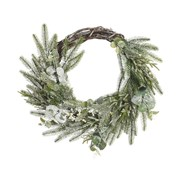 Deco Wreath Frosted Berries 50cm (687540)