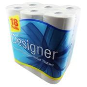 Designer Super Premium Toilet Roll 18roll