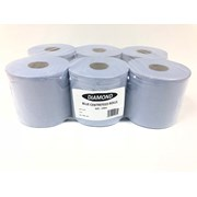 Blue Centrefeed Roll Smooth 150m 6pk