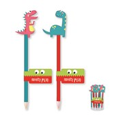 Dino Topper Novelty Pen (DINP)