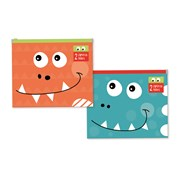 Dino Zip Lock Folder A5 (DIZL)