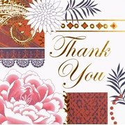 Simon Elvin Contemporary Thank You Card 6's (DP206)
