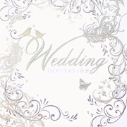 Simon Elvin Wedding Invitation Cards (DP-214)