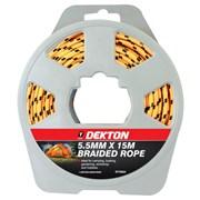 Dekton 5.5mm x 15m Braided Rope (DT70632)