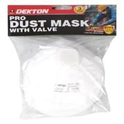 Dekton 3pc Dust Mask With Valve (DT70945)