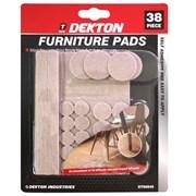 Dekton 38pc Furniture Pads in Cdu (DT90850)