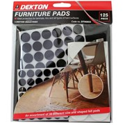 Dekton 125 Piece Furniture Pads (DT90855)