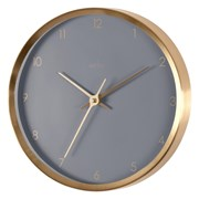 Eadie Metal Wall Clock Dusk/gold 26cm (29419)