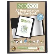 Ecoeco A4 40 Pocket Presentation Display Book (eco004)