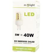 Ecolight 5w Led G9 3000k Light Bulb (EC67721)