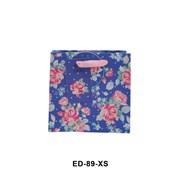 Navy Ditsy Floral Gift Bag Mini (ED89XS)