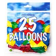 Fantasia Balloons Asst. Colours 25s (PAK25)