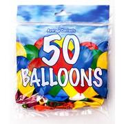 Fantasia Balloons Asstd. Colours 50s (PAK50)