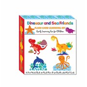 Flash Card Learning Set Dinosaur & Friends (FCLS01)