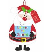 Felt Santa Door Hanger (DSDH)