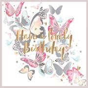 Birthday Butterflies Card (FIER0011)