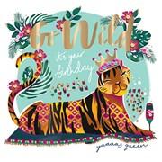 Go Wild Tiger Card (FIER0042)