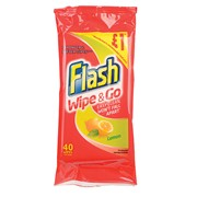 Flash Wipe & Go Lemon 1.00* 40s (95648)