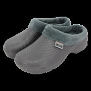 T&c Fleecy Cloggies Charcoal Size5 (P-TFW6621)