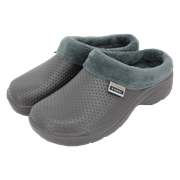 T&c Fleecy Cloggies Charcoal Size10 (P-TFW6626)
