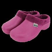 Fleecy Cloggies Raspberry Size 8 (P-TFW6634)
