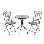Bourges 2 Seater Mosaic Bistro Set (FN184001)
