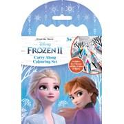 Frozen 2 Carry Along Colouring Set (FNCAR2)