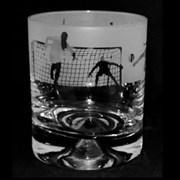 Animo Football Scene Whiskey Tumbler (ANT17FOOTBALL)