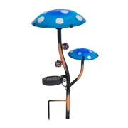 Fountasia Fantasia Solar Double Mushroom Stake (35020)