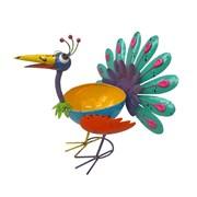 Fountasia Planter-pat The Peacock (68216)