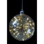 Fountasia Indoor Led Magical Ball Dec Crackled gold (78010)