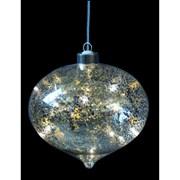 Fountasia Indoor Led Magical Drop Dec Crackled Gold (78013)