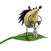 Fountasia Hedgehog With Shears Stake (94301)