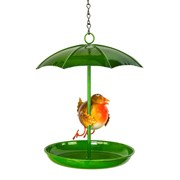 Fountasia Robin Umbrella Dish Bird Feeder (94400)