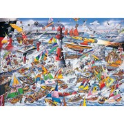 Gibsons I Love Boats Puzzle 1000pc (G591)
