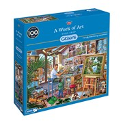 Gibsons A Work Of Art Puzzle 1000pc (G6266)