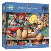 Gibsons Snoozing On The Ted Puzzle 1000pc (G6281)